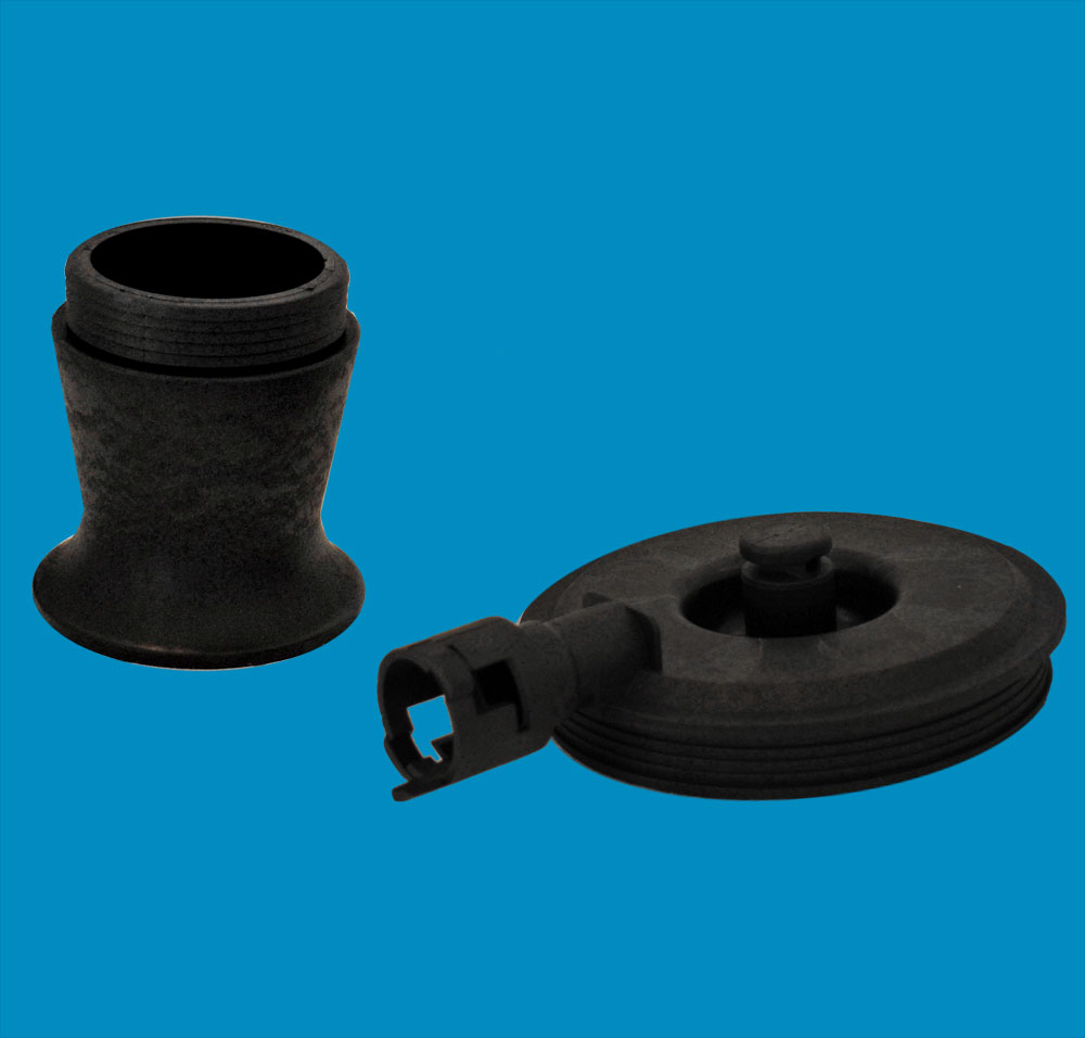 plastic piston and cup for car